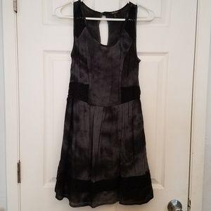 Black burnout dress gothic grunge punk lace dress